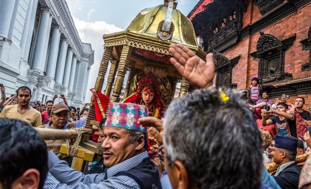 Живите богини на Непал