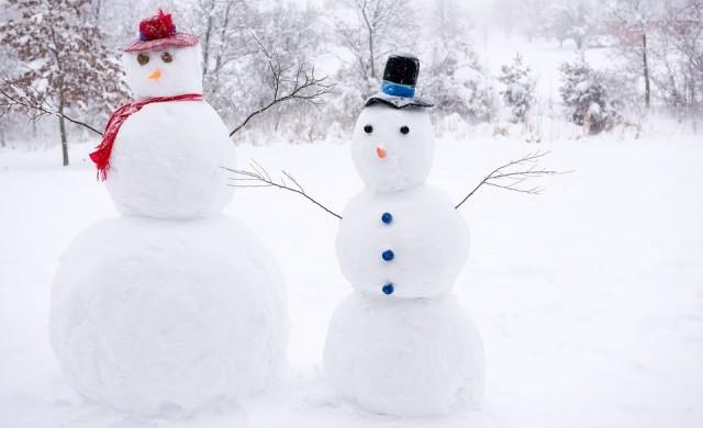 Снежен човек? Японците знаят как да го направят