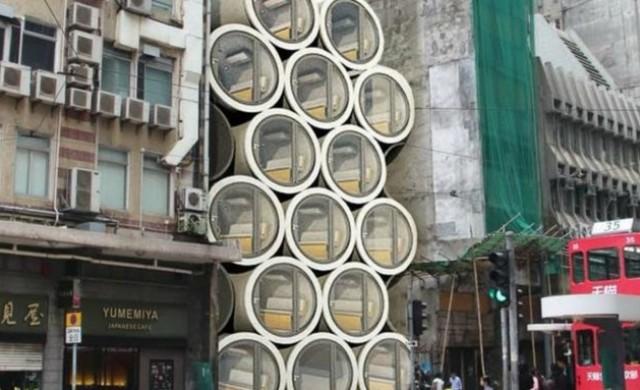 Предложиха на китайци да живеят във водопроводни тръби