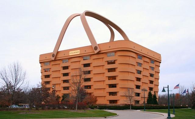 Иконична сграда Кошница в Охайо намери нов собственик