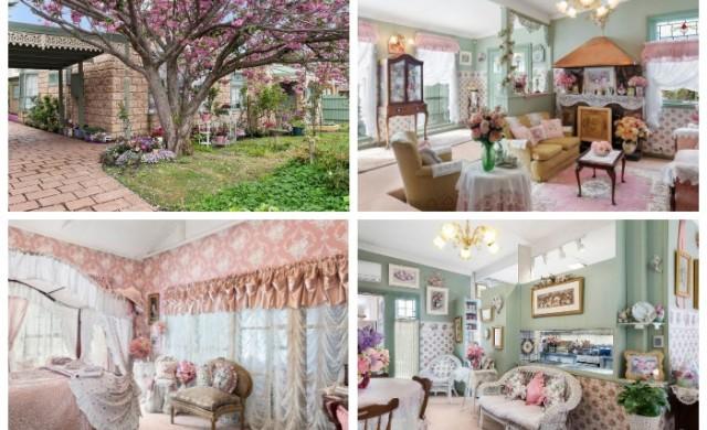 Розово до безумие: Най-розовата къща в Мелбърн се продава