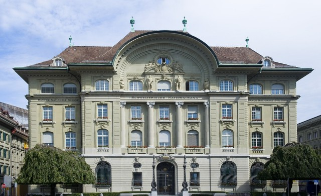 Централната банка на Швейцария с 15 млрд. франка загуба за 2018 г
