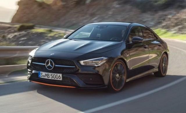 Първите снимки на Mercedes CLA 2020