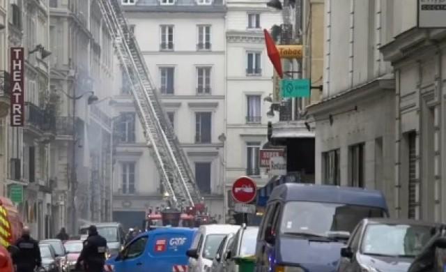 Експлозия в хлебарница в Париж