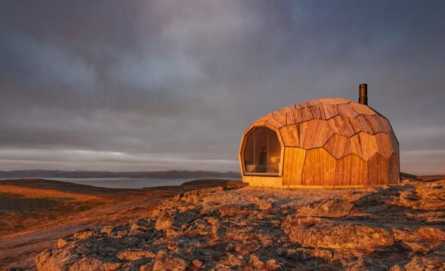 Норвегия разполага с невероятни кабини за планинари