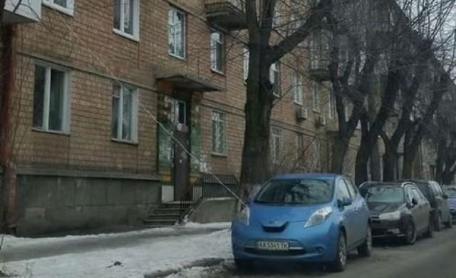 Зареждане на електромобил по украински
