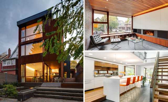 Красива съвременна канадска къща