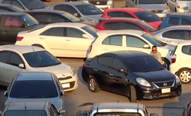 Най-безумният паркинг на света