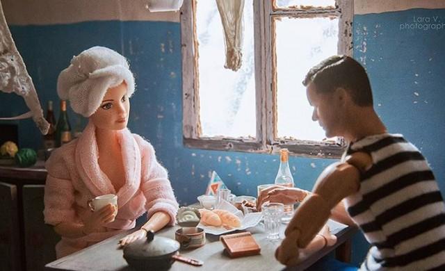 Как биха изглеждали Барби и Кен, ако живееха в СССР?
