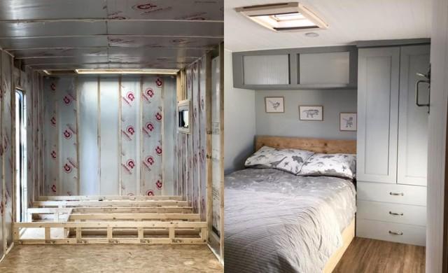 Двойка пътува из Европа в камион превърнат в дом на колела