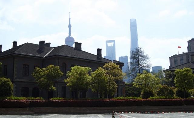 Новият парк на Шанхай е старото летище на града