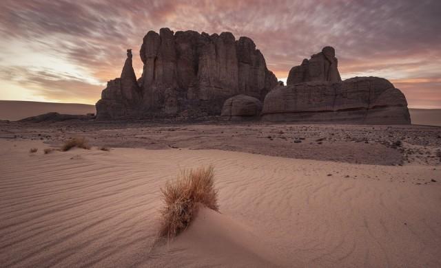 Сняг в пустинята Сахара (снимки и видео)