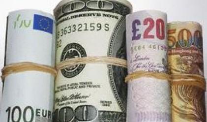 Еврото понижи стойността си спрямо основните си конкуренти