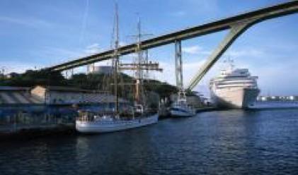 Строят пътнически терминал на пристанище в Молдова за малки кораби за България