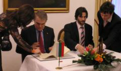 Interior Minister Rumen Petkov Meets Slovak Counterpart Robert Kalinak