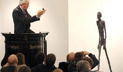 Скулптура на Джакомети постави световен рекорд за цена