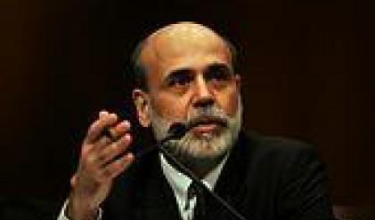 Бен Бернанке заяви, че лихвите ще останат ниски