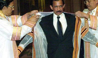 Султанът на Бруней призова за пестеливост