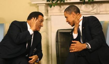 Обама призова Мубарак да се оттегли