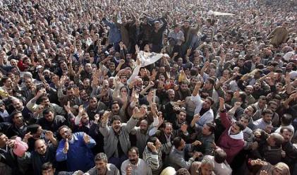 Първи работен ден след оставката на Мубарак в Египет