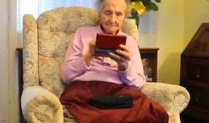 100-годишна британка, луда по Nintendo (видео)