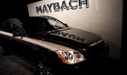 Daimler губели по 500 000 долара от всеки Maybach