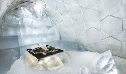Бихте ли отседнали в този леден хотел?