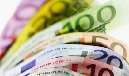 Еврото с триседмичен минимум
