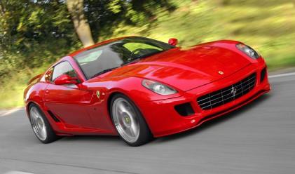 Ferrari с рекордни продажби през 2011 г.