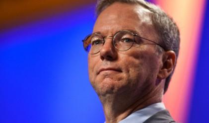 Ерик Шмид продава акции на Google за 1.5 млрд. долара