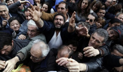 Забраниха на гръцките телевизии да показват сцени на бедност