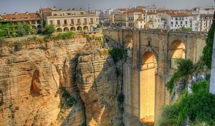 Пет града, построени на ръба на скалата