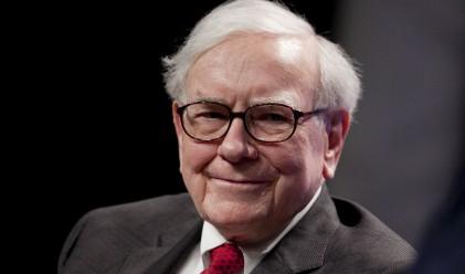 """Бъфет увеличава преднината си в """"залога за един милион долара"""""""