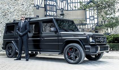 Брониран Mercedes за 1 млн. долара