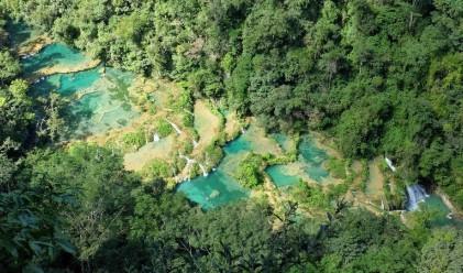 Това природно чудо се крие в джунглите на Гватемала