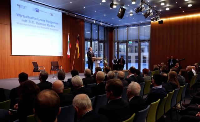 Президентът Радев: По-тясно сътрудничество с Германия