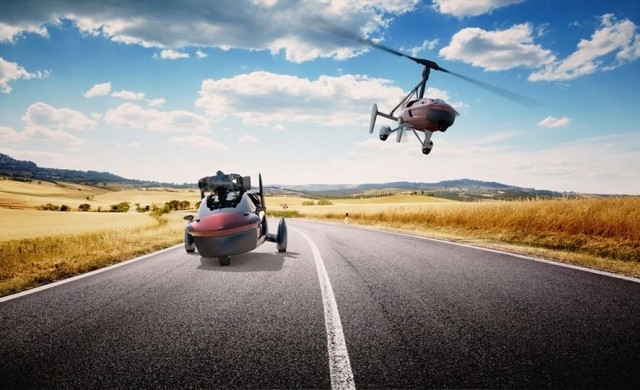 Пуснаха предварителни заявки за първата летяща кола
