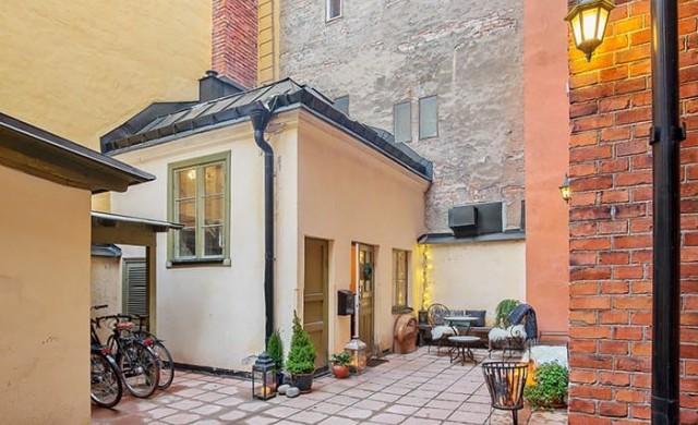Пленителна малка шведска къща
