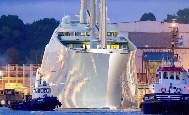 Конфискуваха най-голямата частна яхта на планетата