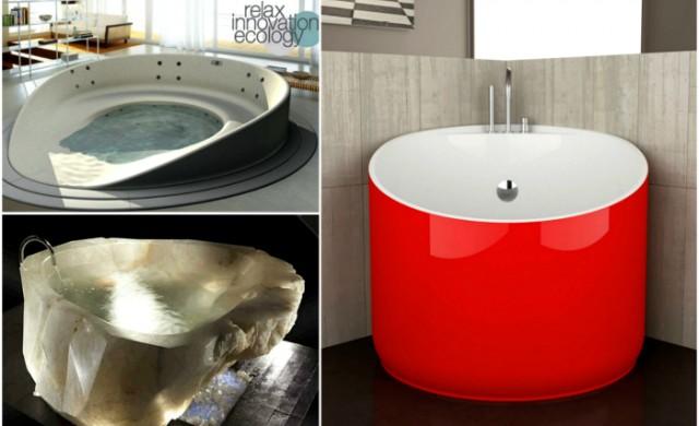 18 възхитителни вани, които превръщат банята в шедьовър