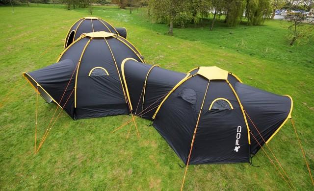 С тези палатки ще превърнете къмпингуването в голямо парти