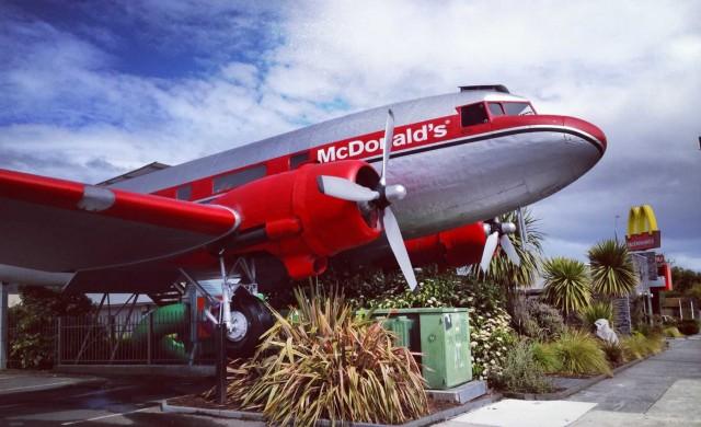 Най-странните ресторанти на McDonald's в света