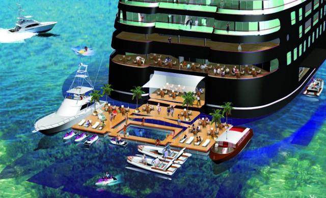 Какво ще предложи първият частен плаващ клуб за милиардери