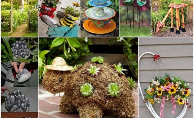 10 уникални и весели идеи за градината и терасата
