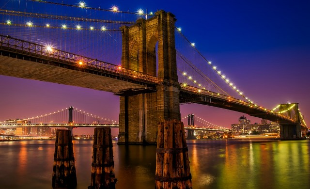 Тайна изба се крие в основите на Бруклинския мост