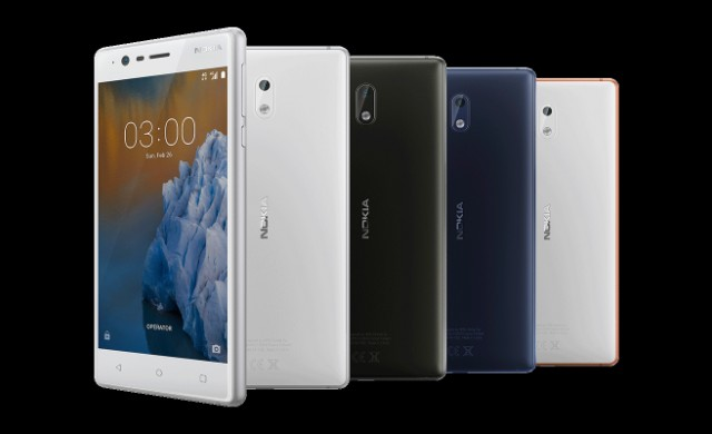 Представиха Nokia 3, Nokia 5 и Nokia 3310
