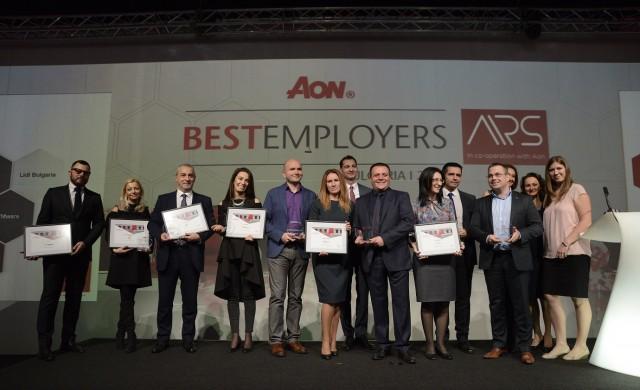Компания с 2300 служители получи приз за най-добър работодател