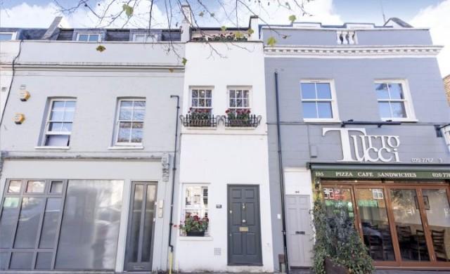 Тази къща в Лондон, широка 2.3 м, се продава за 1 млн. паунда