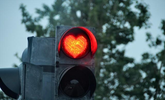 София с любовни светофари за Свети Валентин