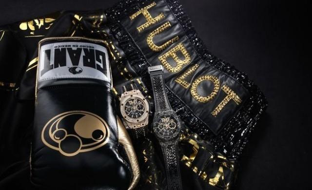Луксозен часовник, вдъхновен от боксьора Флойд Мейуедър